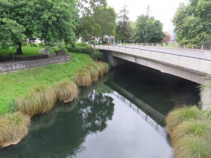 Christchurch - Grünanlage in der Innenstadt