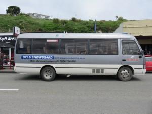 Ausflug nach Kaikoura - Der MinibusAusflug nach Kaikoura - Der Minibus