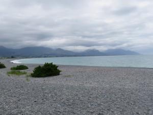 Kaikoura - Der Strand