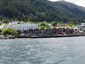 Queenstown - Bootstour Frankton Arm und Lake Wakatipu mit Blick auf Queenstown