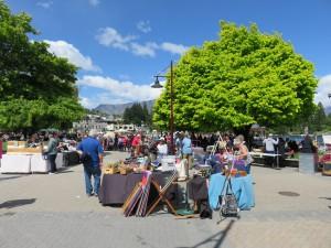 Queenstown - Handwerkermarkt an der Strandpromenade