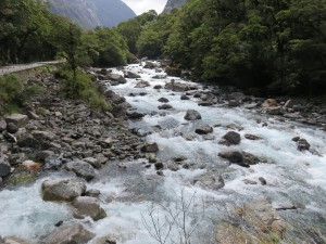 Ausflug nach Milford Sounds - Falls Creek