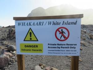 Helikopterflug nach White Island - Rundgang auf White Island