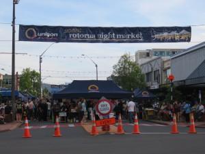 Rotorua - Straßenmarkt