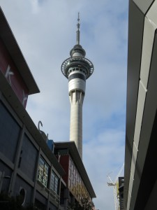 Auckland - Der Sky Tower