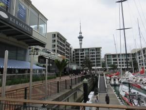 Auckland - Innenstadt, Hafenviertel