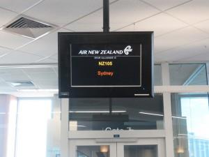 Auckland - Abflug nach Sydney