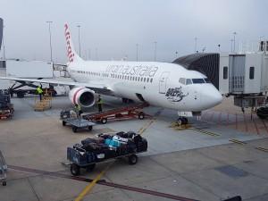 Melbourne: Das Flugzeug zum Weiterflug nach Cairns