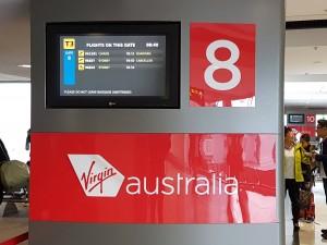 Melbourne: Abflug von Gate 8 in Richtung Cairns