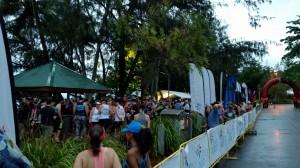 Port Douglas: Marathon Wochenende, vor dem Start des 10 km Lauf