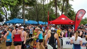 Port Douglas: Marathon Wochenende, im Zielbereich
