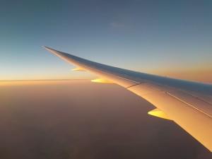 Flug von Brisbane nach Abu Dhabi: Anflug auf Abu Dhabi