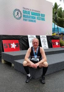 Port Douglas: Marathon Wochenende, im Ziel angekommen