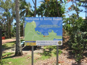 Airlie Beach: Zur Begrüßung
