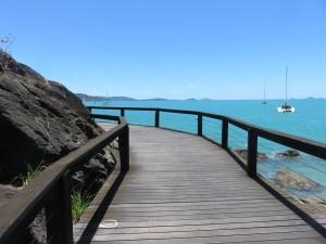 Airlie Beach: Spaziergang zum Yachthafen Abell Point