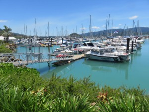 Airlie Beach: Der Yachthafen Abell Point