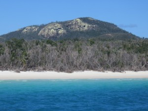 Cruise Whitsundays: Ankunft am Whitehaven Beach