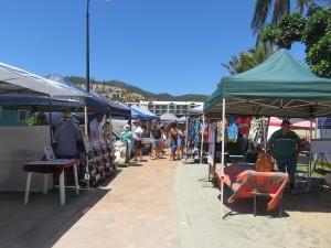 Airlie Beach: Markt am Strand