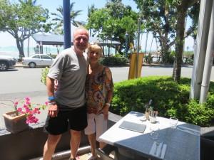 Airlie Beach: Kaffeetrinken mit Wendy