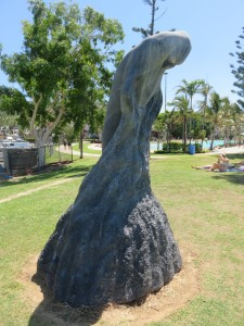 Airlie Beach: Kunst am Strand