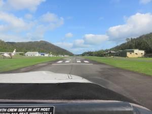Whitsunday Rundflug: Der Rundflug startet