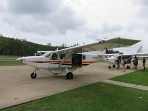 Whitsunday Rundflug: Zurück am Boden