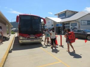 Fahrt von Airlie Beach nach Cairns: Der Start
