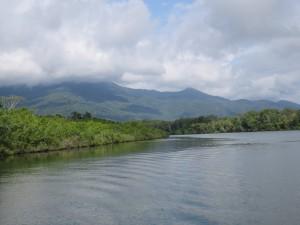 Ausflug nach Frankland Islands: Hinfahrt