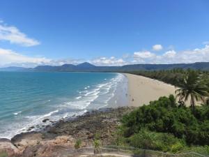 Port Douglas: Ausblick auf den Four Mile Beach