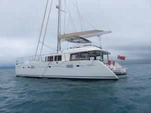 Inselausflug Low Isles: Die Anreise mit dem Katamaran