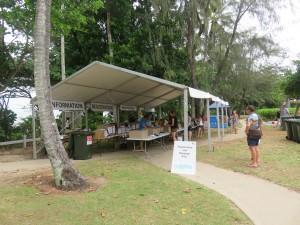 Port Douglas: Marathon Wochenende, Abholung der Startunterlagen