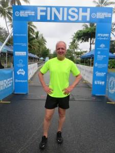 Port Douglas: Marathon Wochenende, zumindest einmal im Ziel gewesen  :-)